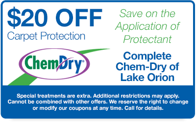 $20 off carpet protection coupon